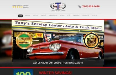 tonys service center sm